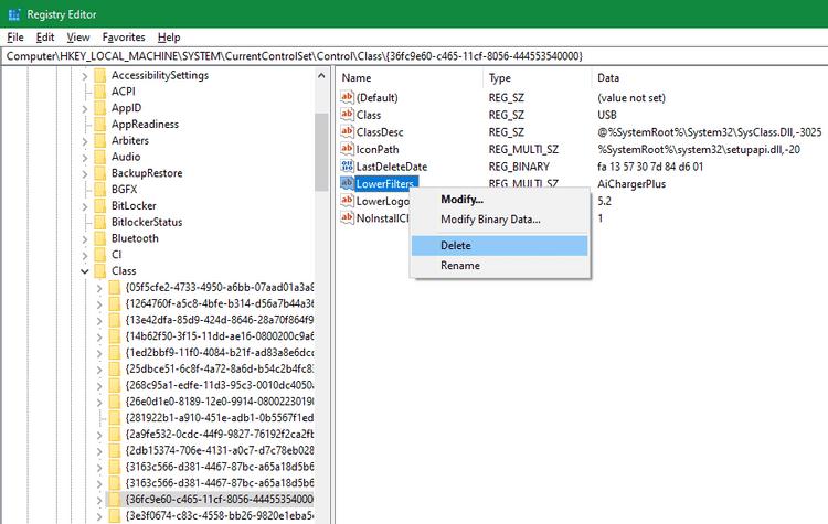 """Correction de l'erreur """"Ce périphérique ne peut pas démarrer. (Code 10)"""" dans Windows - Windows"""