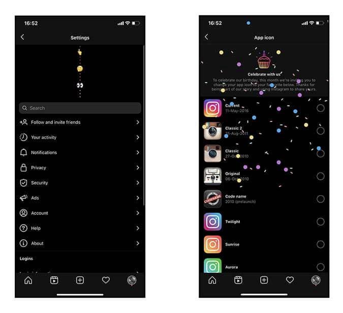كيف يمكنك تغيير أيقونة تطبيق Instagram - Instagram