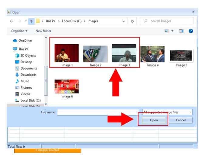 كيفية تحويل صور متعددة إلى مستند PDF واحد على جهاز الكمبيوتر
