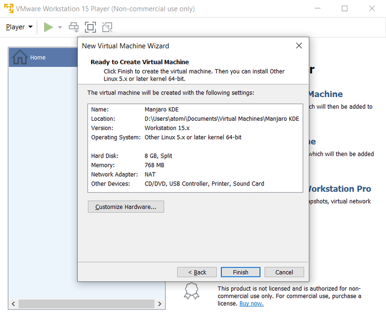 كيفية تثبيت Linux في Windows باستخدام جهاز VMware الافتراضي