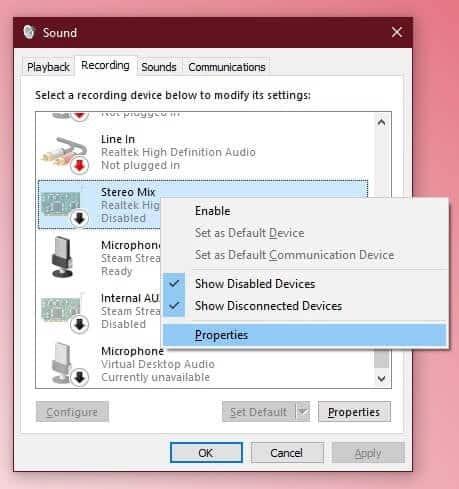 كيفية تشغيل الصوت على سماعات الرأس ومكبرات الصوت في نفس الوقت على Windows10