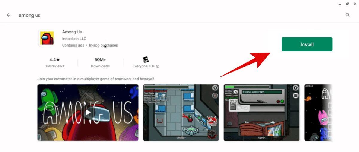كيفية لعب Among Us على Chromebook - ألعاب