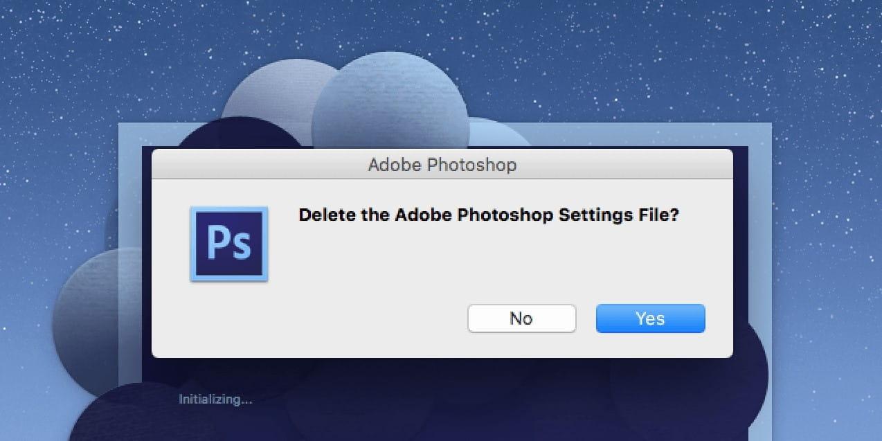كيفية إعادة تعيين مظهر Adobe Photoshop إلى الوضع الافتراضي