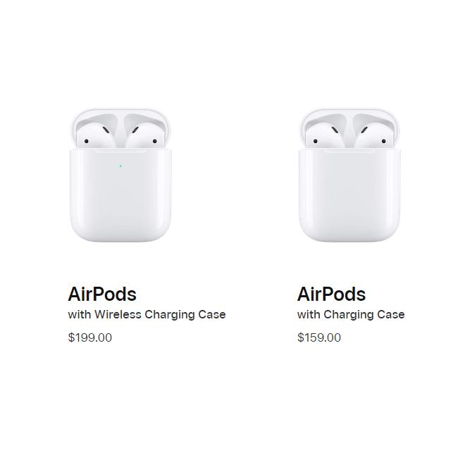 ما الفرق بين سماعات AirPods 1 وAirPods 2؟