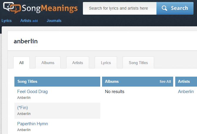 أفضل مواقع الويب للعثور على معاني وتفسيرات الأغاني مع الكلمات