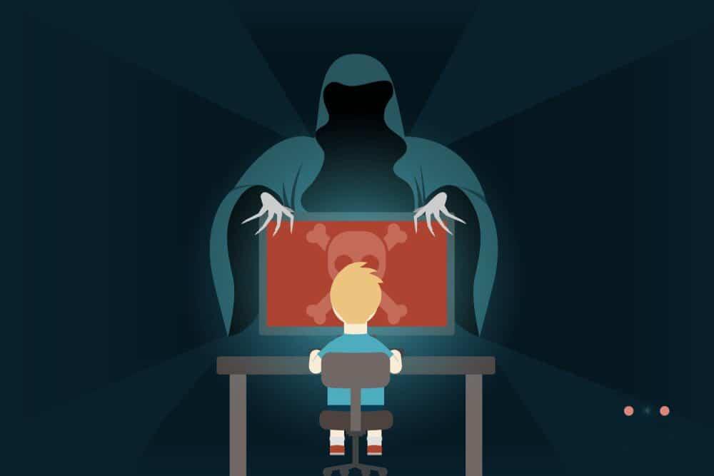 أشهر الطرق التي يستهدف بها مجرمو الإنترنت الأطفال عبرالإنترنت