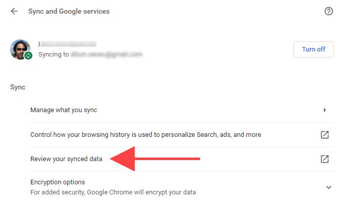 كيفية إعادة تعيين مزامنة Chrome لإصلاحالمشكلات