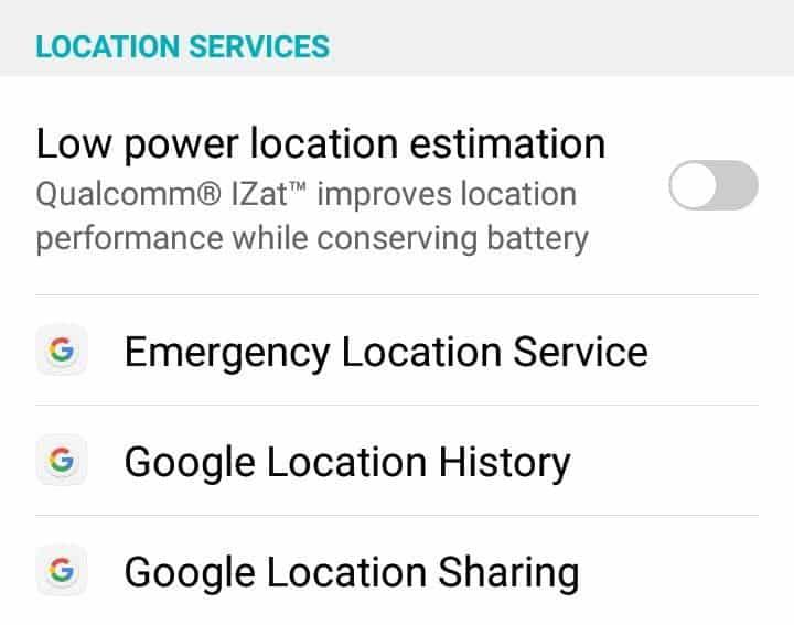 """كيفية إدارة إعدادات """"الموقع الجغرافي"""" على جهازAndroid"""