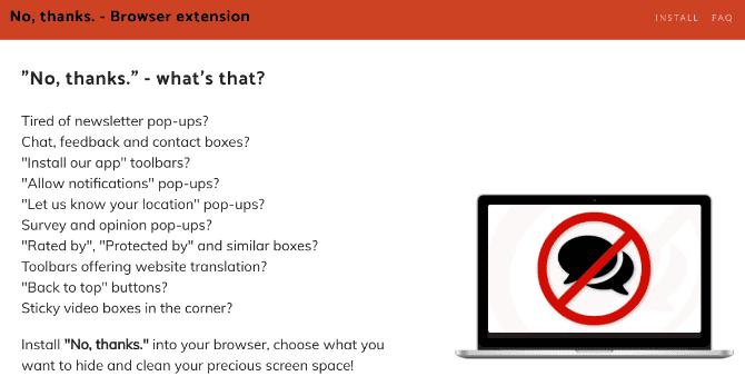 أفضل الإضافات والملحقات للتخلص من مضايقات الإنترنت الشائعة أثناءالتصفح