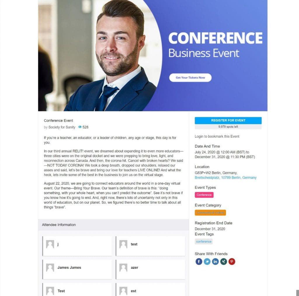 مراجعة WP Event Manager: هل هي أفضل إضافة لإدارة الأحداث على WordPress؟