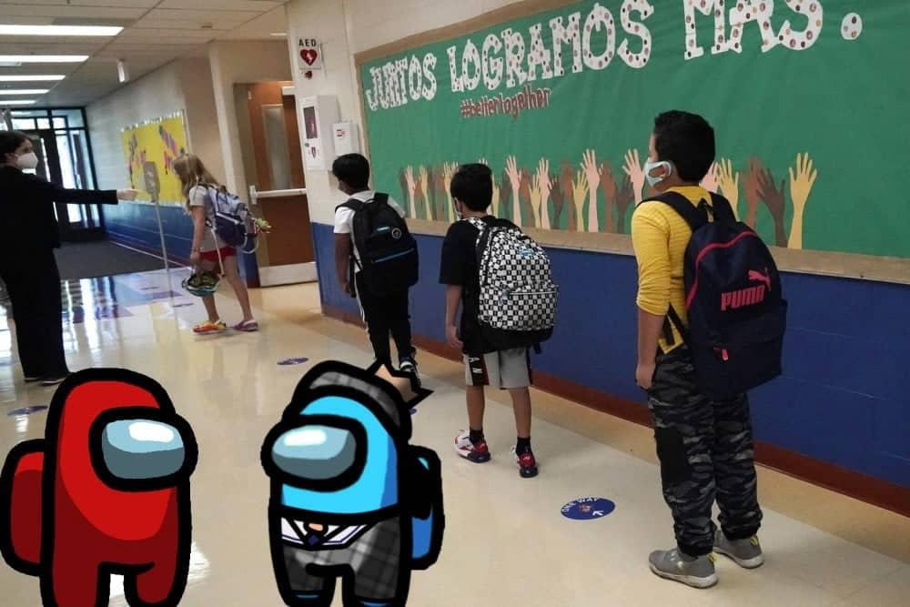 Among US في المدرسة: كيف يُمكن للطلاب الاستفادة بشكل كبير من اللعبة الأكثر شعبيةالآن