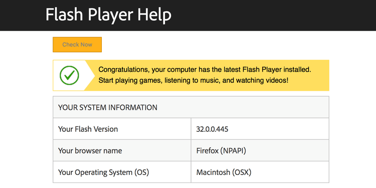 كيفية تنزيل Adobe Flash Player على جهازMac