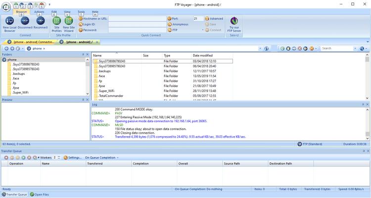 أفضل تطبيقات FTP المجانية لنظام التشغيلWindows