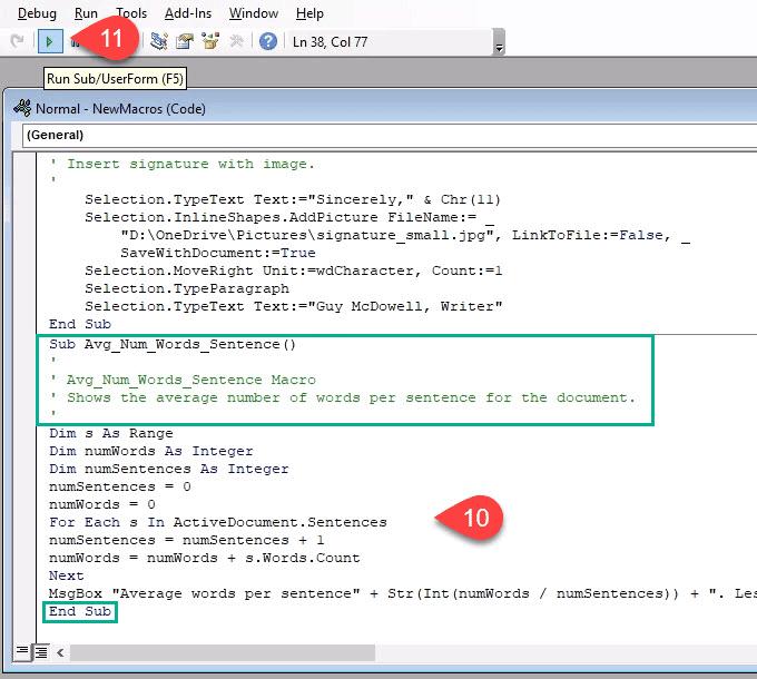 كيفية إنشاء وتشغيل وحدات الماكرو فيMicrosoft Word