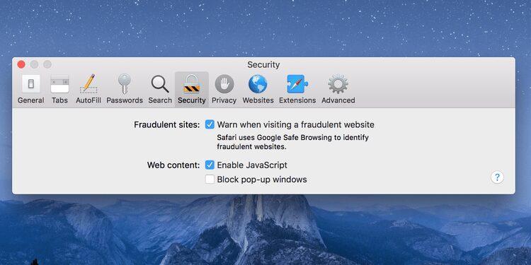 Comment autoriser les popups sur un Mac