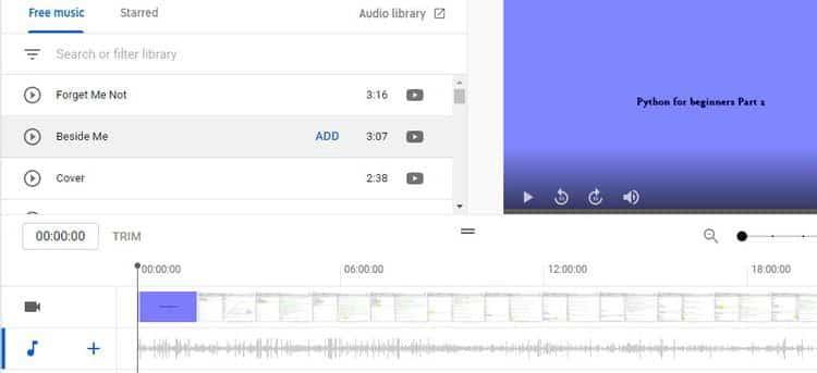 كيفية إضافة الموسيقى إلى مقطع فيديوYouTube