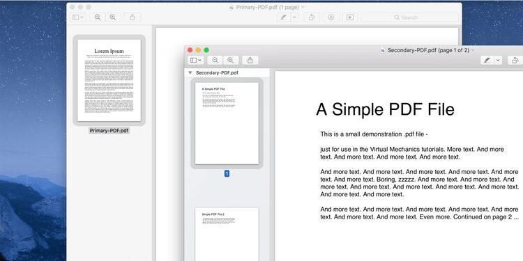 Comment fusionner des fichiers PDF sur un Mac
