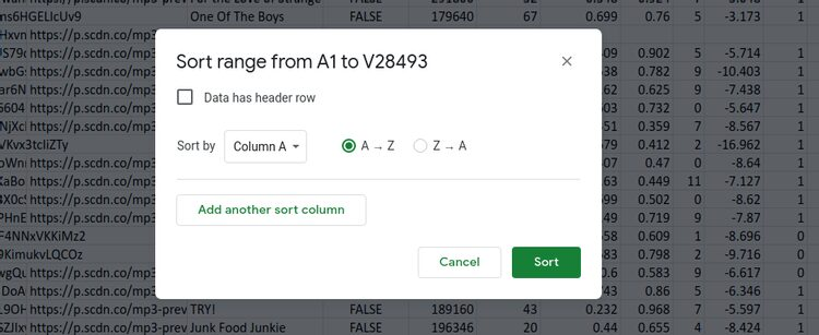 كيفية ترتيب الأعمدة في جداول بيانات Google مثل المحترفين
