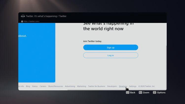 كيفية الوصول إلى متصفح الويب المخفي على جهاز PS5