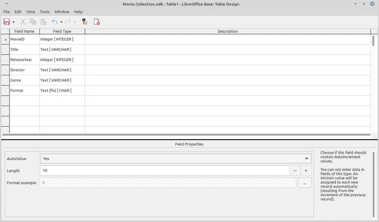 كيفية إنشاء قاعدة بيانات جديدة باستخدام LibreOffice Base