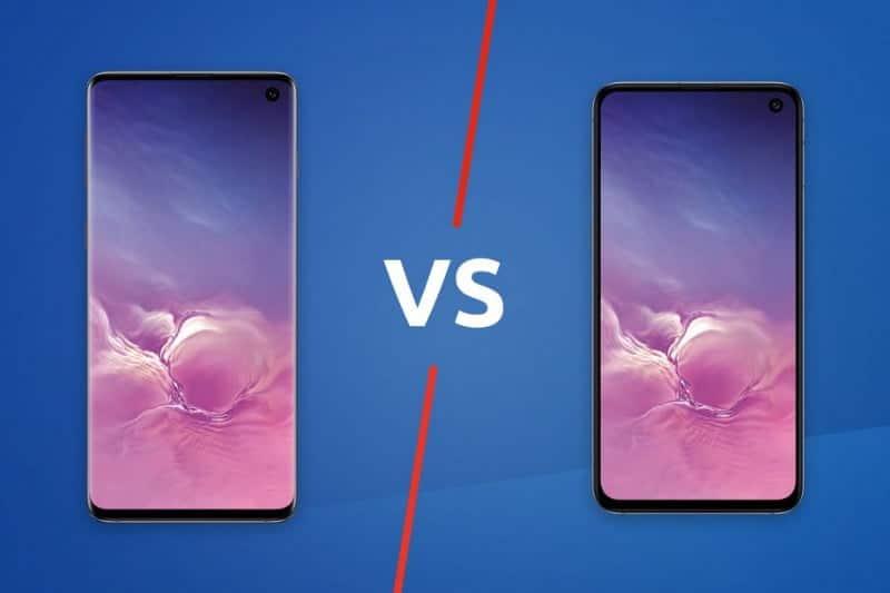 Quelle est la différence entre le Galaxy S10 et le Galaxy S10e?
