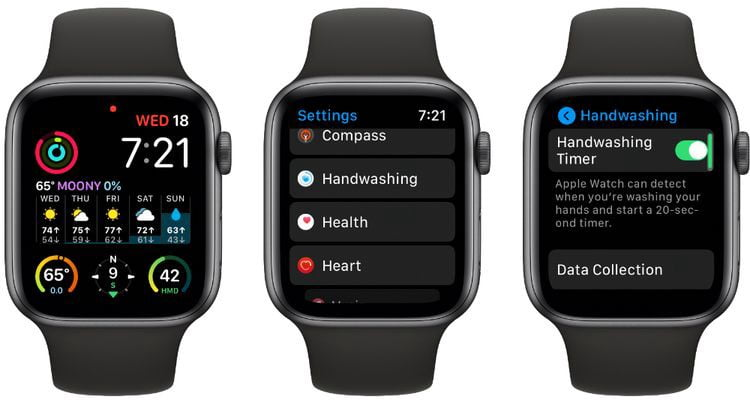 Comment utiliser la minuterie de lavage des mains sur Apple Watch