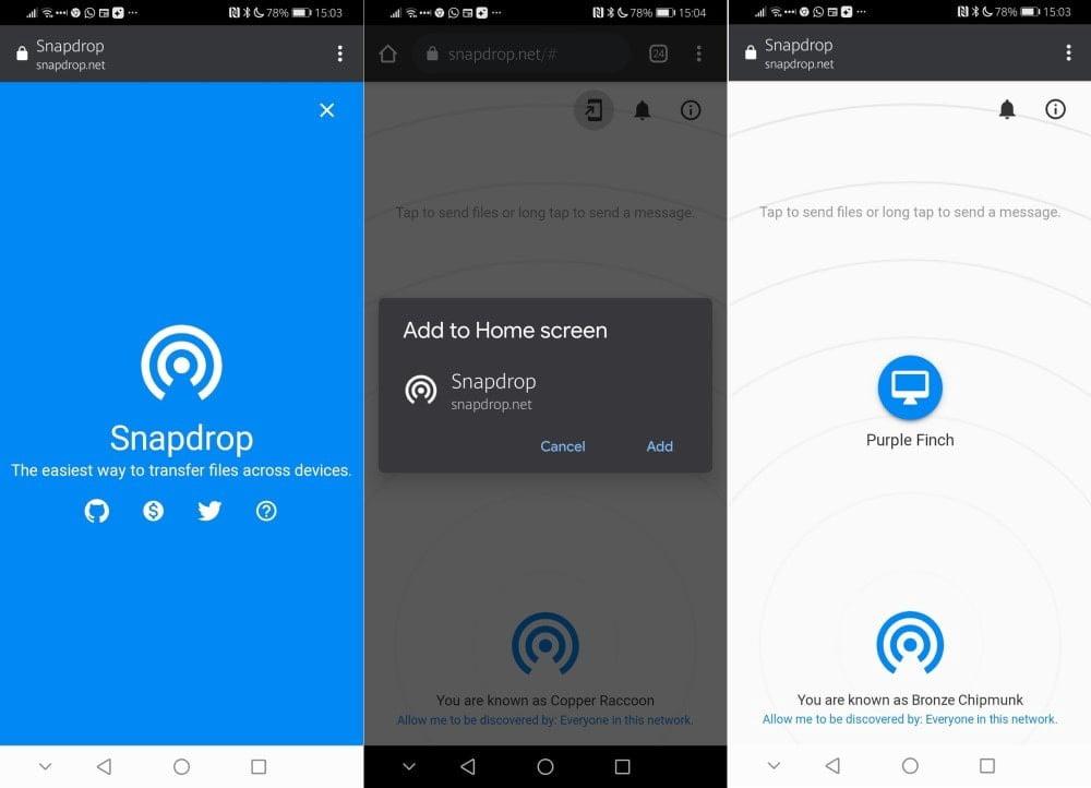 أفضل بدائل AirDrop لنظام Android