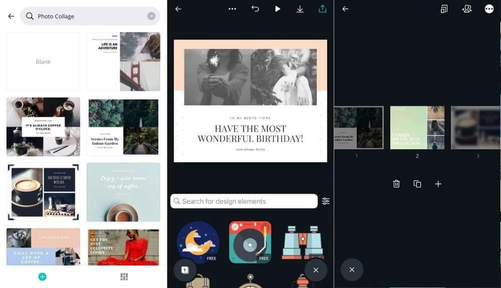 Meilleures applications de collage pour les appareils Android et iOS
