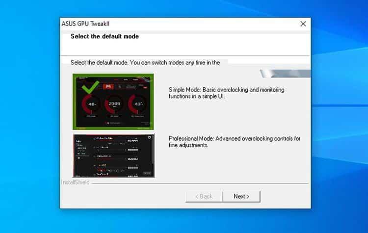 كيفية كسر سرعة وحدة معالجة الرسومات في Windows 10 باستخدام ASUS GPU TweakII