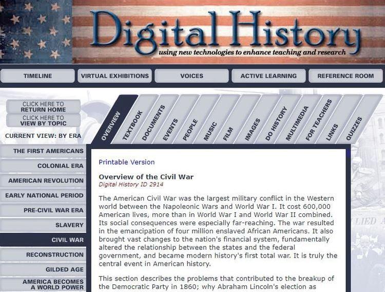 Meilleur programme d'histoire gratuit pour l'école à la maison en ligne