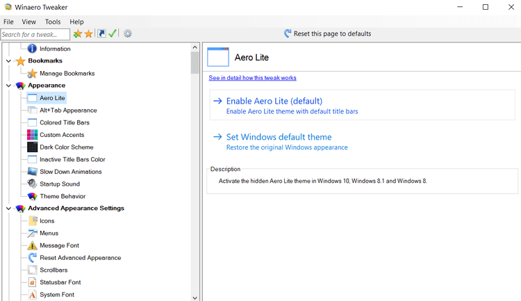 كيفية الحصول على سمة Aero Glass على نظام التشغيل Windows10