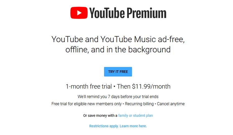 هل تستحق YouTube Premium التكلفة المطلوبة؟ الأشياء التي يجب النظرإليها