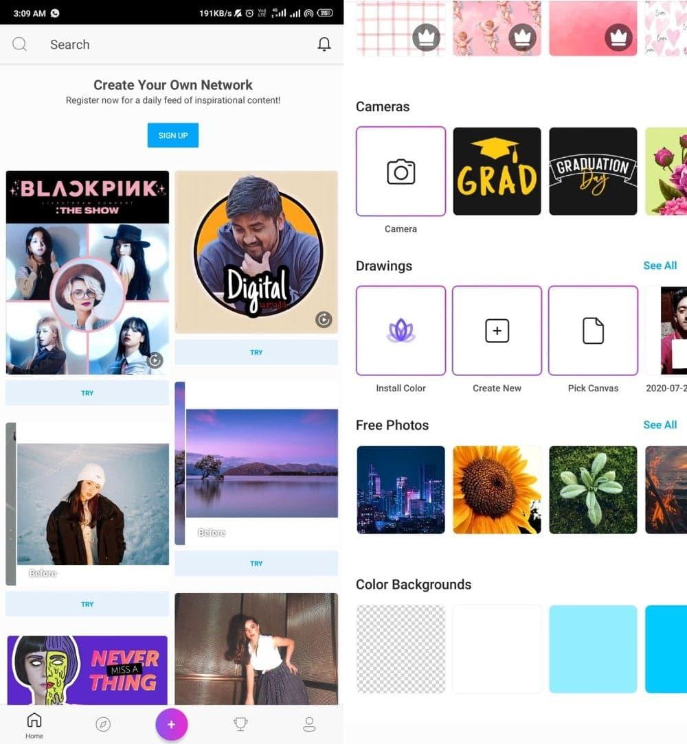 Meilleure application pour créer des logos et une image de marque sur Android