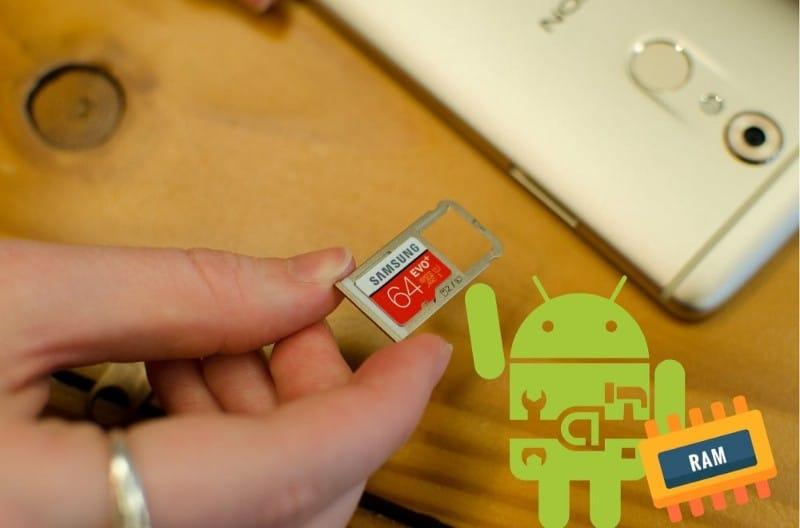 كيفية إضافة المزيد من ذاكرة الوصول العشوائي إلى جهاز Android باستخدام بطاقةMicroSD