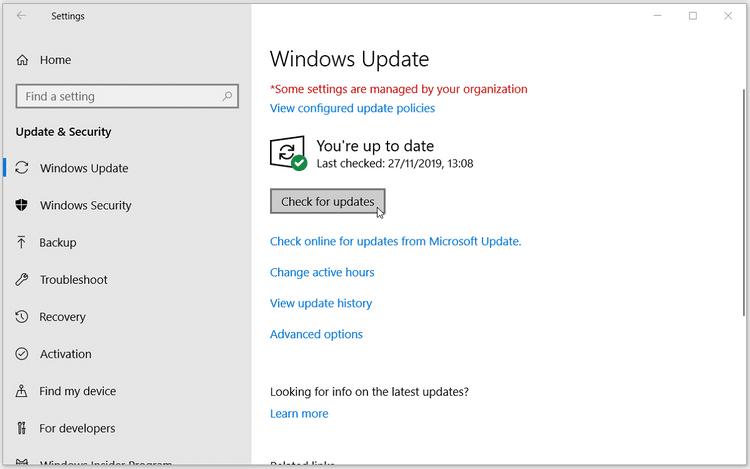 """أفضل الطرق لإصلاح خطأ """"لا توجد مساحة كافية على القرص لتحديث Windows10"""""""