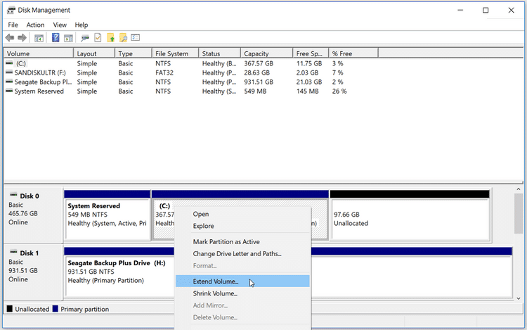 Meilleures façons de corriger l'erreur «Il n'y a pas assez d'espace disque pour mettre à jour Windows 10»