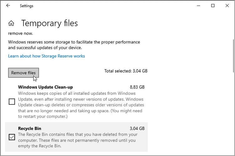 Meilleures façons de résoudre l'impossibilité de vider la corbeille sous Windows 10 - Windows