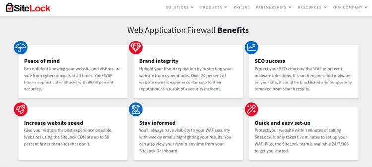 Meilleurs services de pare-feu d'application Web pour sécuriser un site Web