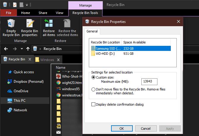 Ces fichiers et dossiers Windows doivent être supprimés pour libérer de l'espace sur le disque dur