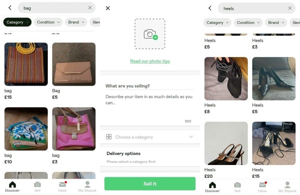 Meilleures applications de mode d'occasion à enregistrer à la maison - Android iOS