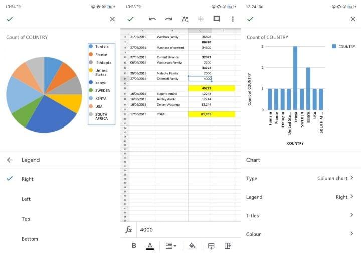 أفضل تطبيقات تحليل البيانات وإحصائها لنظامAndroid