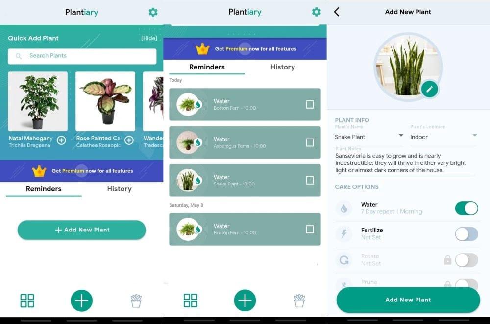 أفضل تطبيقات Android للعناية بالنباتات المنزلية - Android