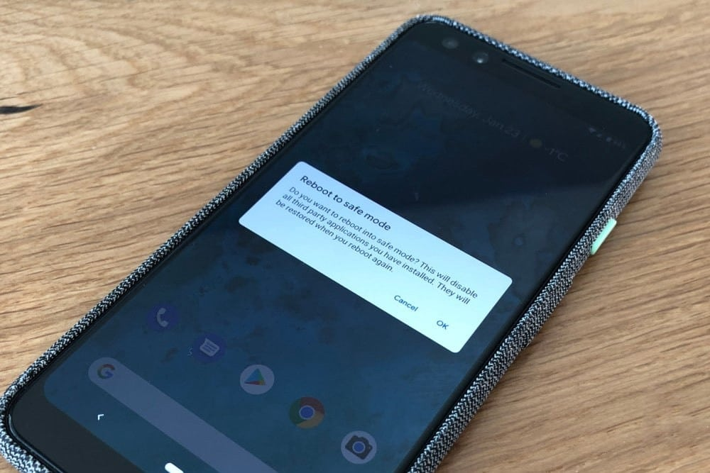 Comment démarrer en mode sans échec sous Android - Android