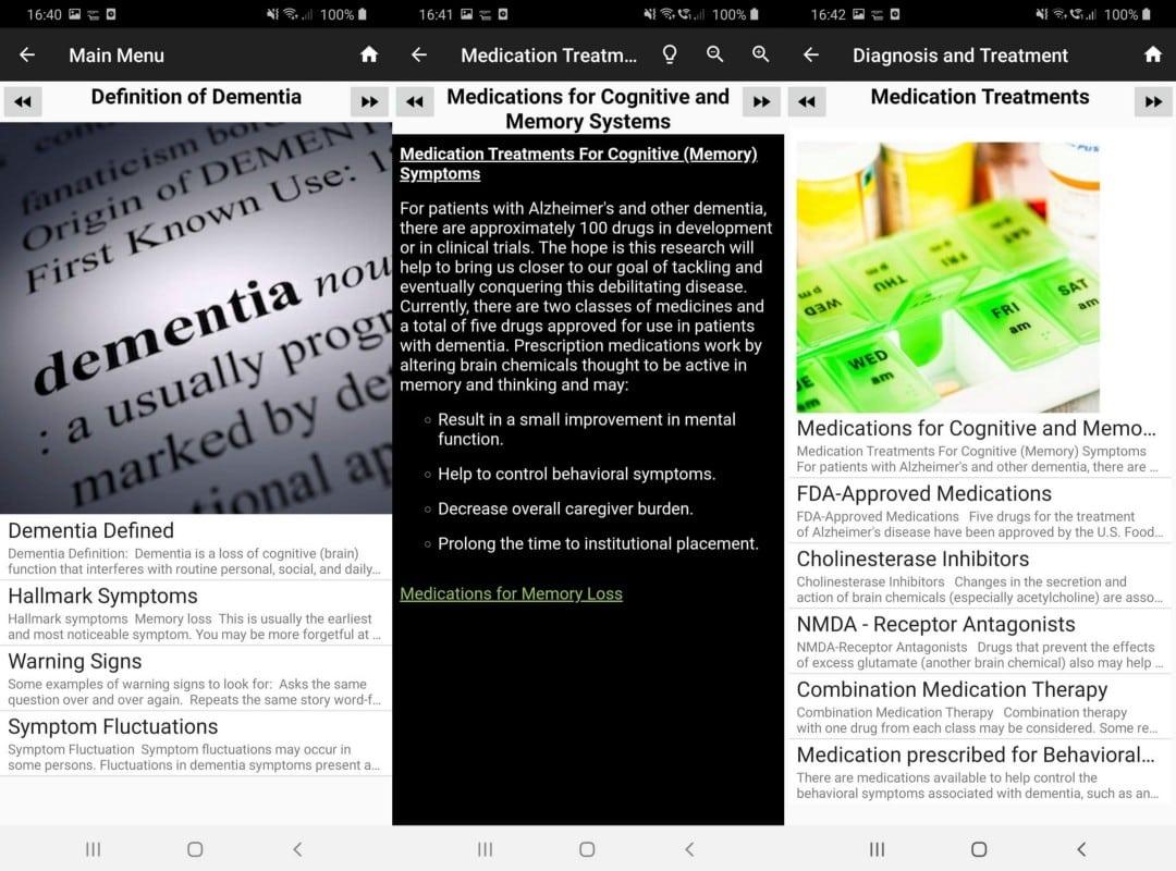 أفضل تطبيقات الهاتف لمساعدة مرضى الخَرَف ومقدمي الرعايةلهم - Android iOS