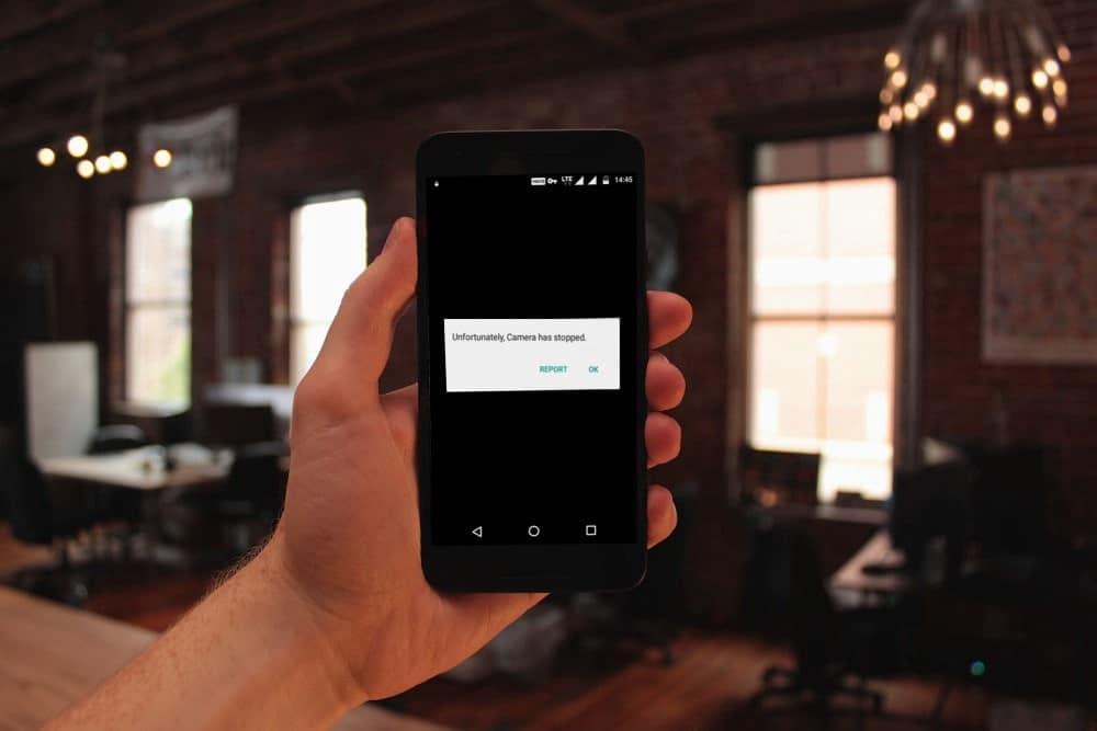"""Comment corriger le message d'erreur """"Malheureusement, l'appareil photo s'est arrêté"""" sur Android"""