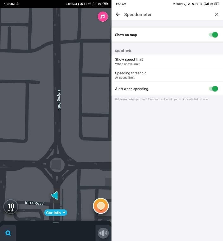 Meilleures applications de compteur de vitesse pour Android et iOS - Android iOS