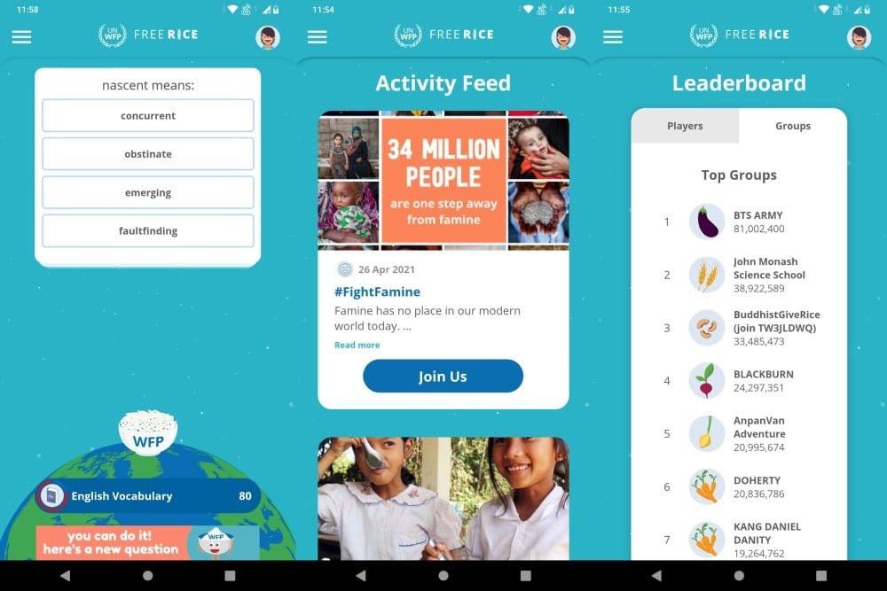 Meilleures applications Android et iPhone à donner à une association caritative