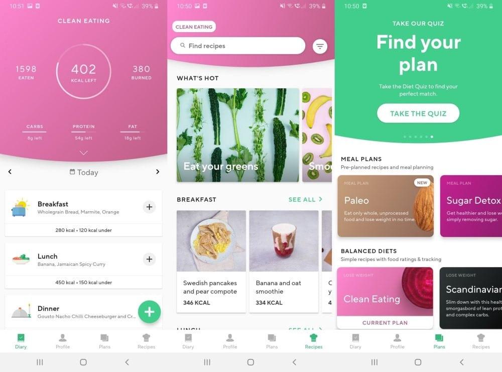 أفضل بدائل MyFitnessPal لأجهزة Android وiPhone - Android iOS