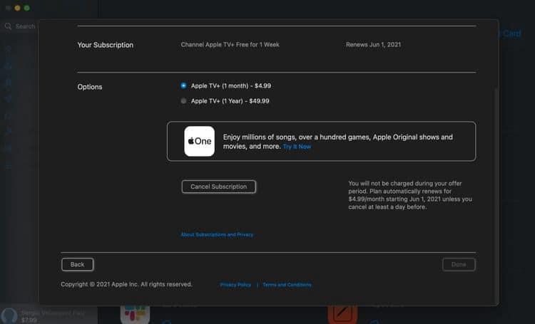 كيفية إلغاء اشتراكك في خدمة Apple TV+ - شروحات