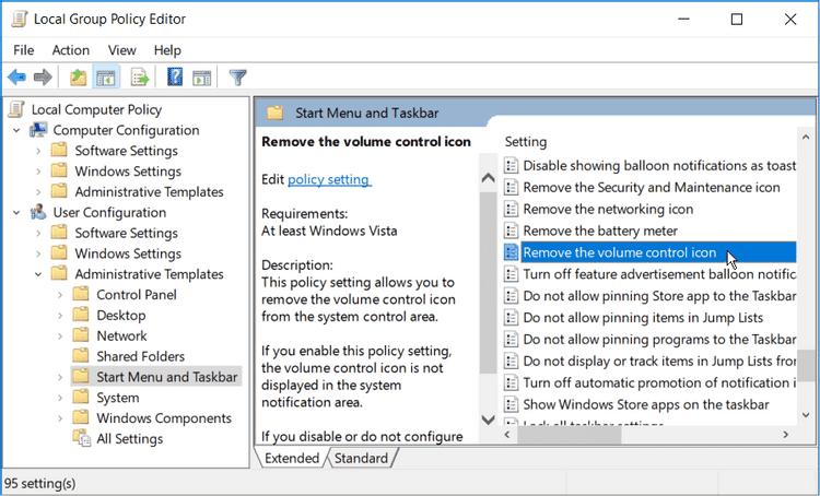 أفضل الطرق لاستعادة أيقونة السماعة المفقودة إلى شريط مهام Windows10 - الويندوز